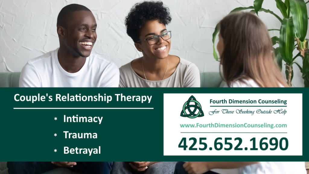 Couples counseling and trauma therapy in Seattle Tacoma and Kirkland Washington, Bellevue, Redmond and Maple Valley