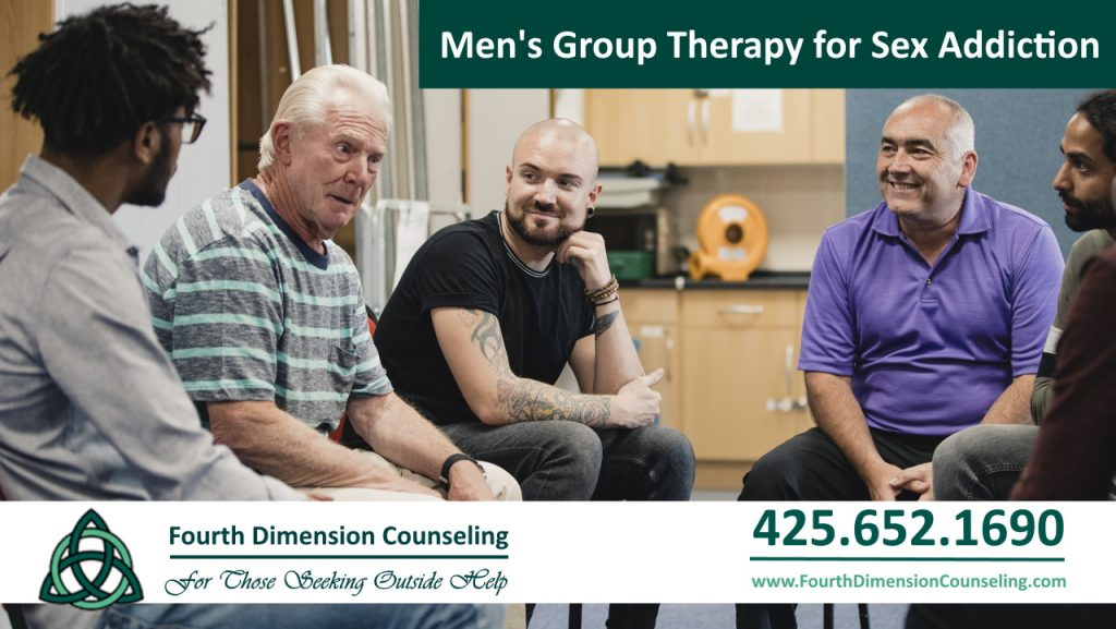 Mens group therapy and counseling for sex and pornography addiction in Seattle, Kirkland, Redmond, Bellevue, Tacoma and Olympia Washington