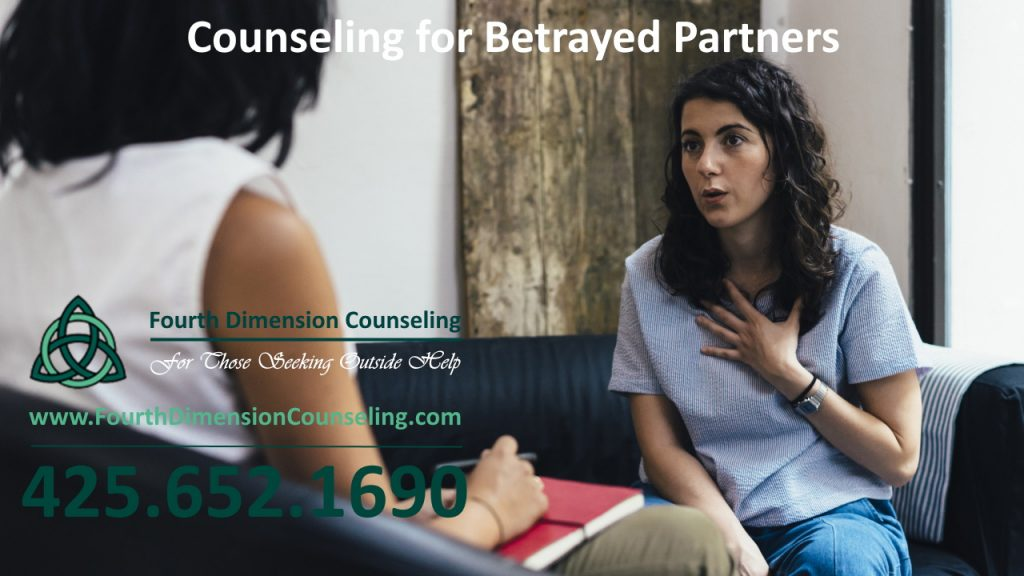 Woman in therapy with sex addiction and betrayed partner, betrayal trauma and codependency counselor in Seattle, Kirkland, Bellevue, Mercer Island, Tacoma, Maple Valley, Redmond, Washington in King County.