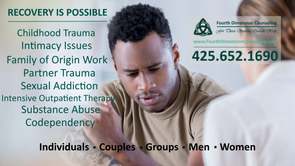 Seattle, Tacoma and Kirkland WA professional counseling and therapy for sex and pornography addiction, betrayed partners, childhood trauma and betrayed partner trauma substance abuse