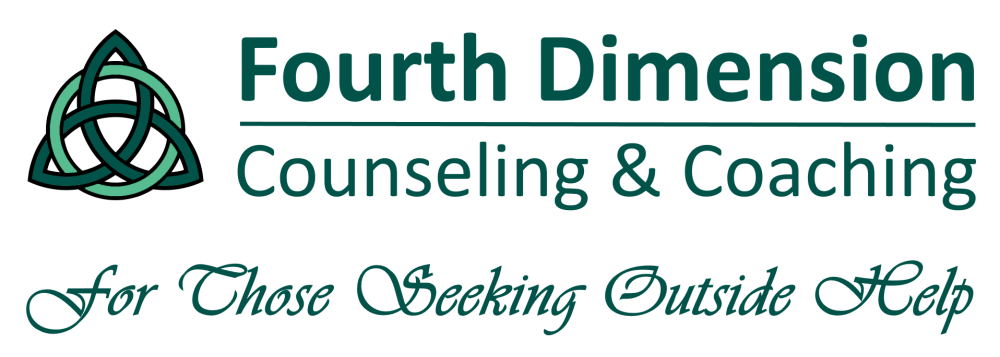 Fourth Dimension Counseling Therapy and Coaching Logo Seattle Tacoma Kirkland WA
