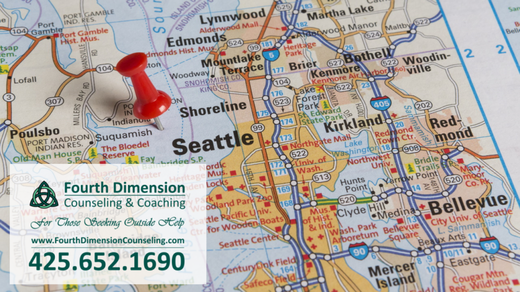 Office Locations Map Service Areas Seattle, Kirkland Bellevue, Redmond, Tacoma, Washington