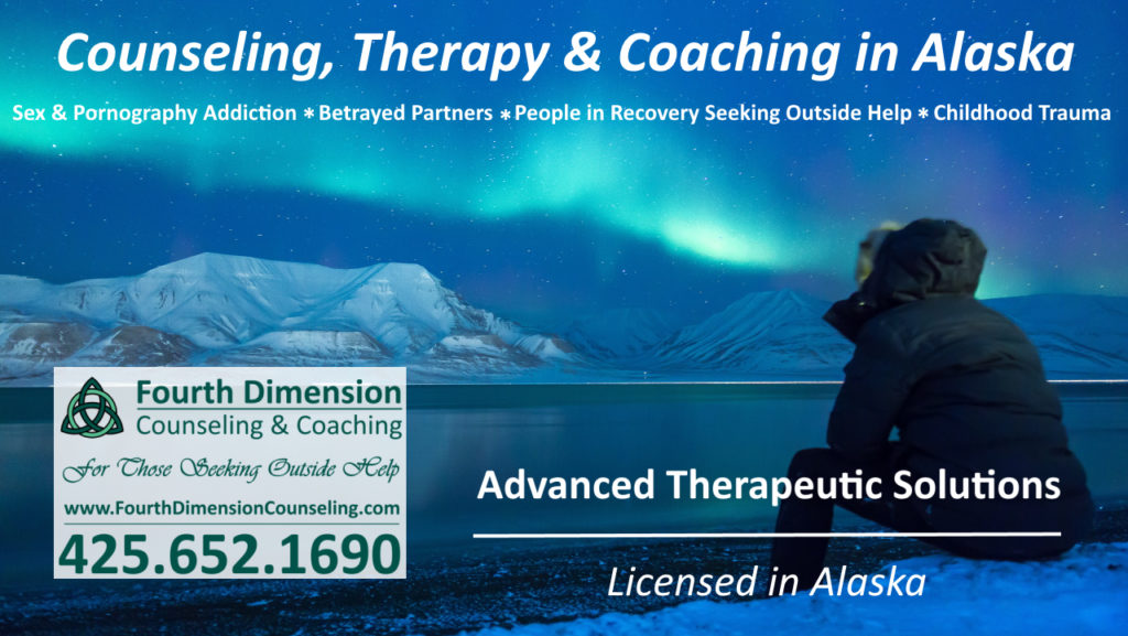 Alaska substance abuse sex and porn addiction counseling coaching and trauma therapy Anchorage Fairbanks Juneau Wasilla Palmer Sitka Ketchikan Kenai Kodiak Bethel Homer Valdez Seward AK