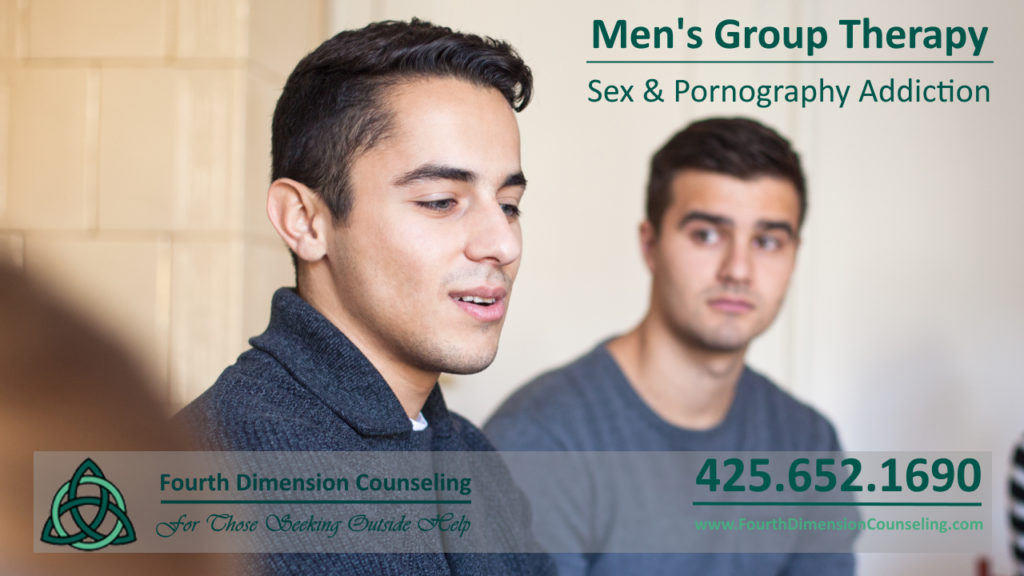 Redmond WA Mens group therapy counseling for sex and pornography addiction