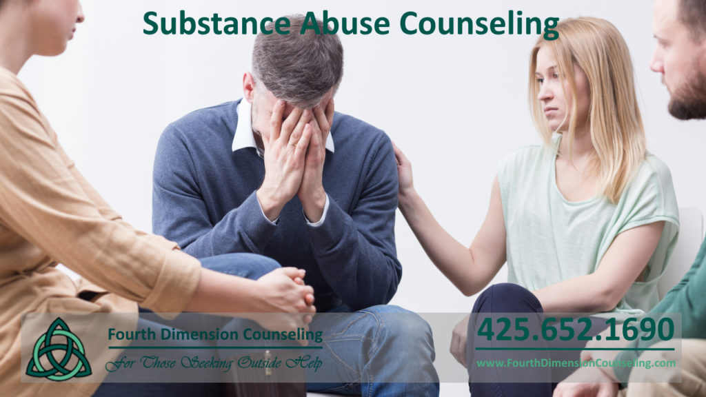 Redmond WA therapy counseling for substance abuse and addiction people in 12 step recovery
