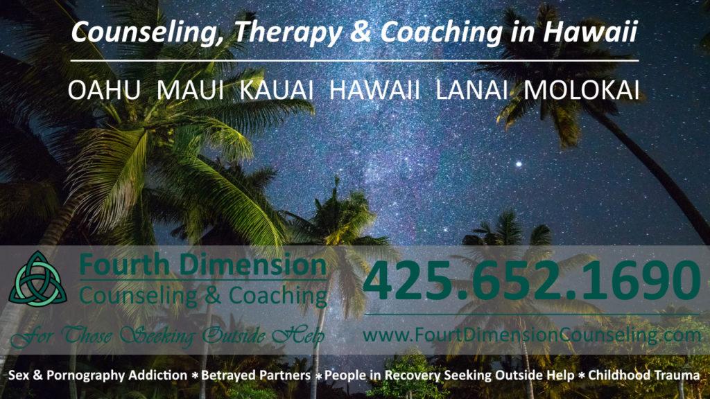 Oahu Hawaii Kailua Kaneohe counseling trauma therapy and life coaching