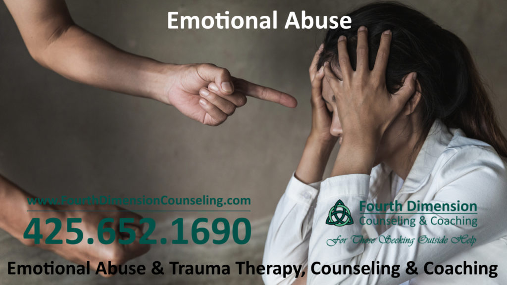Emotional abuse childhood trauma counseling and therapy in Everett WA