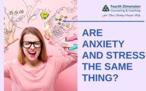 Are Anxiety and Stress the Same Thing?