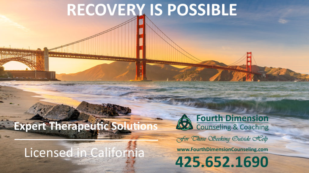 San Francisco San Jose California counseling trauma therapy substance abuse recovery