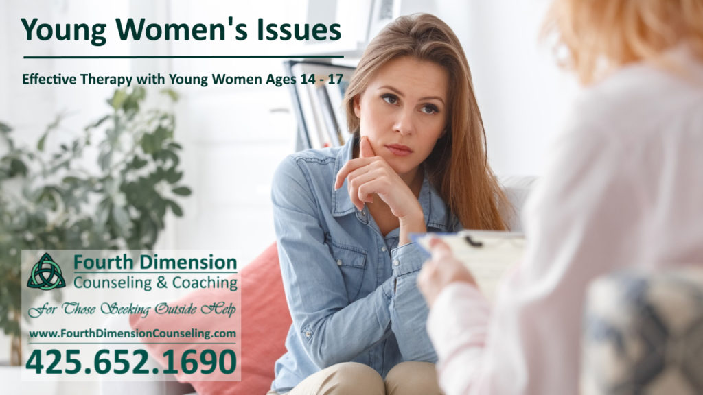 Issaquah Washington counseling therapy and life coaching for young women and teenagers